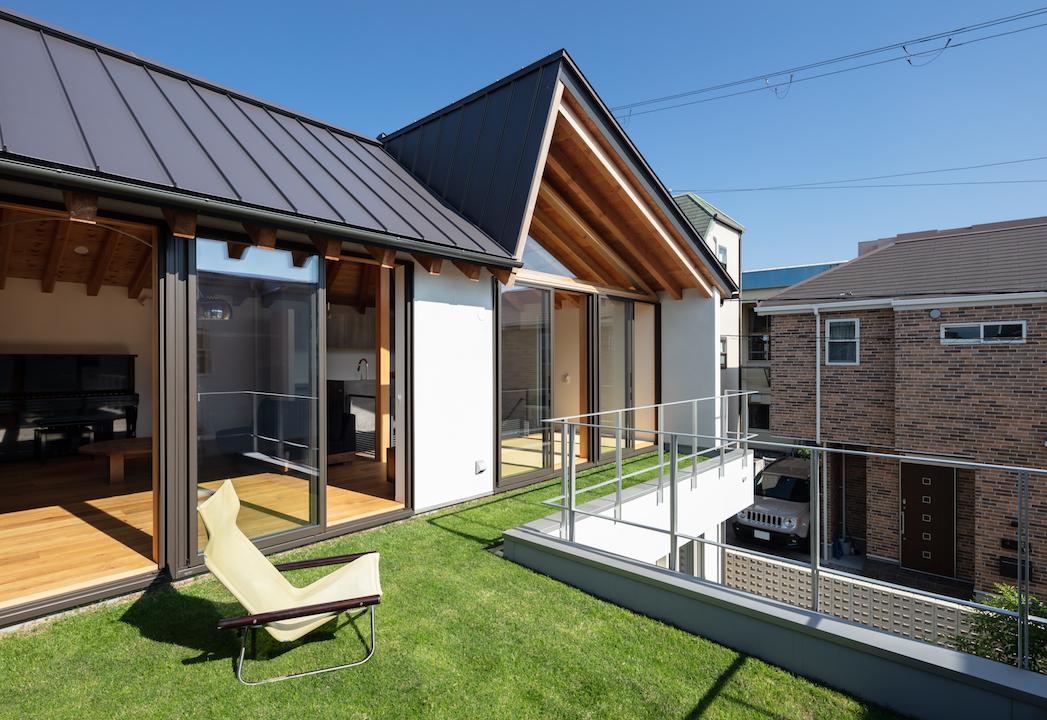 屋上緑化 芝生